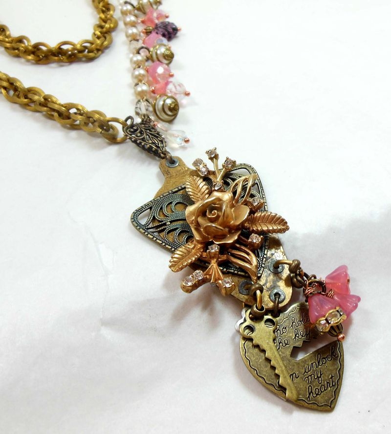 BEATEN SPOON NECKLACE 008