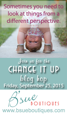 Change it up BLog Hop